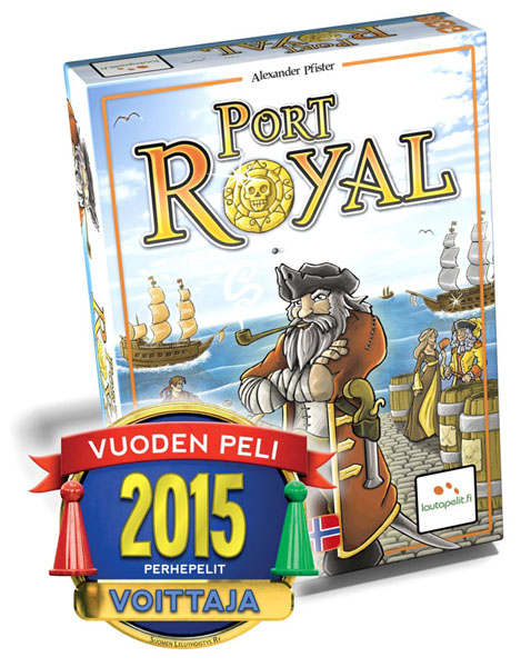 Vuoden Perhepeli 2015: Port Royal